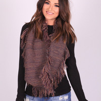 The Fringe Way Scarf (Lavender)