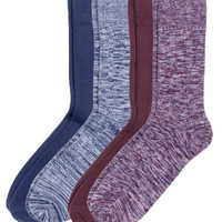 H&M 4-pack Ribbed Socks $9.99
