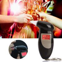 Key Chain Alcohol Tester, Breathalyzer with 5 mouthpiece