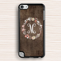 art wood floral ipod touch 5 case,old wood grain ipod 4 case,new design ipod 5 case,personalized ipod touch 5 case,fashion ipod touch 5 case,gift ipod touch 4,wood garland image gift ipod touch 4,  hard case,monogram ipod touch 4