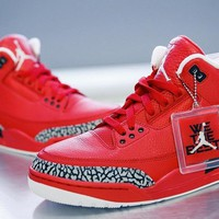 [Free Shipping ]Air Jordan 3 ¡°Grateful¡± Basketball Sneaker