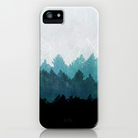 Woods Abstract iPhone & iPod Case by Mareike Böhmer Graphics