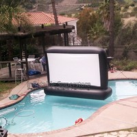 7' Aquascreen - Floatable Inflatable Movie Screen (.5mm Pvc)
