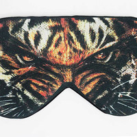 Tiger Sleep Eye Mask, Eye Sleep Mask, Eye mask, Sleep mask, Sleeping mask, Blindfold, Handmade eye sleep mask masks, Sleep Eye masks