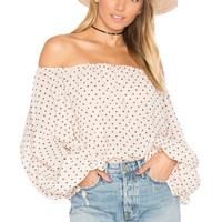 Lovers + Friends x REVOLVE Dahlia Blouse in Star Print | REVOLVE