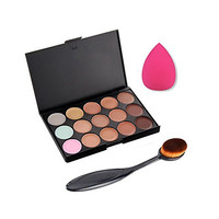 Angel Cosmetic Toothbrush With 150Colors Contour Face Cream Concealer Palette