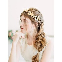 Daffodil Fields Forever |  Boho Gold Flower Crown