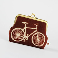 Deep dad  Echino Bicycle in brown  metal frame change by octopurse