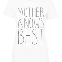 Mother Knows best t shirts, Mom T shirts, Mom Gifts