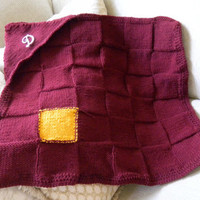 Mrs. Weasley's Knitted Harry Potter Baby Blanket