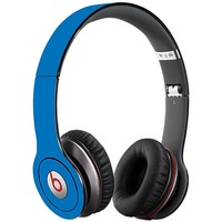 Blue Skin for the Beats Solo HD by skinzy.com