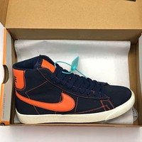 NIKE BLAZER MID QS high-top platform sneakers shoes
