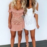 Party Perfect Dress: Dusty Blush