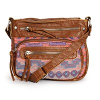 T-Shirt & Jeans Amber Tribal Crossbody Purse