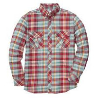 Southern Proper Red Field Flannel Shirt size XXL