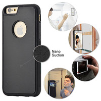 iPhone 6 / iPhone 7 Magical Nano Anti Gravity Phone Case - Can Stick to Glass, Whiteboards, Tile and Smooth Flat Surfaces - Walmart.com