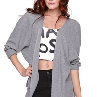LA Hearts Open Cardigan - Womens Sweater