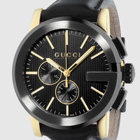 Gucci - g-chrono extra large black PVD watch 367375I18A08769