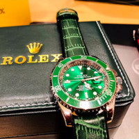 Rolex Submariner Watch Ladies Men Stainless Steel Watch B-XT-ZNSS Green