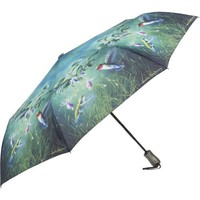 Galleria Hautman Brothers Hummingbirds Auto Super-Mini Umbrella