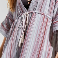 Out From Under Natalia Striped Kaftan | Urban Outfitters