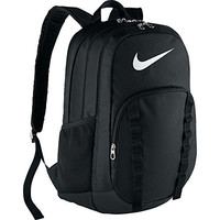 Nike Brasilia 7 Backpack Black/White Size X-Large