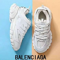 BALENCIAGA Trending Women Stylish Sport Running Jogging Shoes Sneakers White