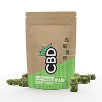 CBDfx Hemp Gummies with Turmeric and Spirulina
