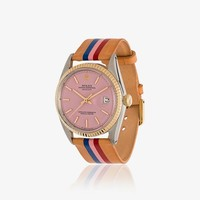 Flamingo Capitola Rolex Oyster Perpetual Datejust Two-tone Watch 36mm