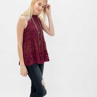 Gimmicks by BKE Lace Tank Top