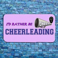 Cute Pink Cheerleader Cheer Quote Girly Funny Phone Case iPhone iPod Girl Fun
