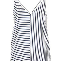 TALL Stripe Double Strap V-Front Cami - New In