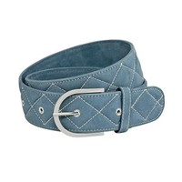 """Tailored Sportsman """"Quilted"""" Clarino™ Belt 