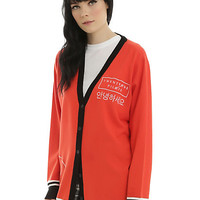 Twenty One Pilots Red Logo Girls Cardigan