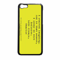 Perks Of Being A Wallflower iPhone 5c Case