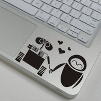 "goodgoodstore (TM) Robot Decal Mac Decal Macbook Decals Apple Decals for 11""13"" 15"" 17""MacBook Sticker"