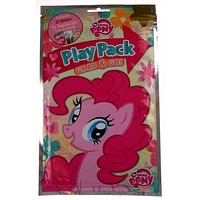 My Little Pony Play Pack Lot 5 Grab Go Coloring Book Crayons Stickers Favors
