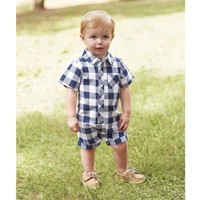 Mud Pie Gingham One Piece