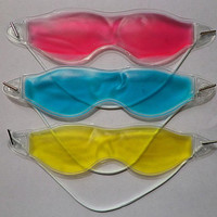 Summer Style Dark Circles Removal Eye Fatigue Relif Eye Gel Ice Goggles Sleep Masks Random Color HB-0192
