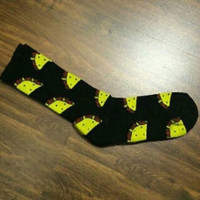 BUY NOW!!! Odd Future OFWGKTA Taco All Over Crew Socks