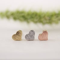 2017 New Fashion Tiny Cute Little Heart Silver Stud Earrings for Women Girls Gifts Simple Elegant Party Earring ED017