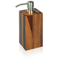 Acacia Natural Wood Bathroom Standing Pump Liquid Soap Lotion Dispenser