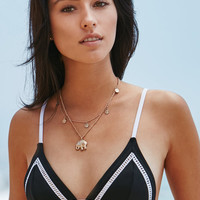 Rhythm Pipeline Ladder Trim Bralette Bikini Top at PacSun.com