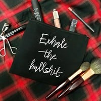 Exhale Makeup Bag
