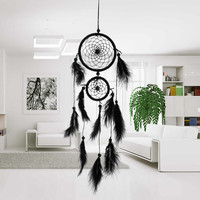 Black Indiana Dream Catcher