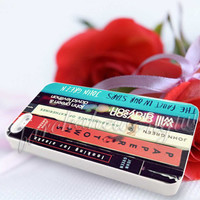 John Green All Books - For iPhone 4/4s, iPhone 5/5S/5C, Samsung S3 i9300, Samsung S4 i9500 Hard Case