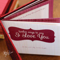 Twelve Ways To Say I Love You - Red Rose