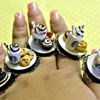 starbucks and sweets ring