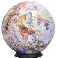 """Esphera 360 9"""" 540 Pieces Sphere Art: Wall's """"Queen of the Night"""" by Mega Brands"""