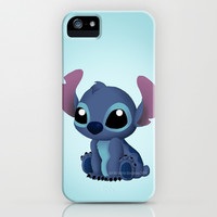 Chibi Stitch iPhone & iPod Case by Katie Simpson